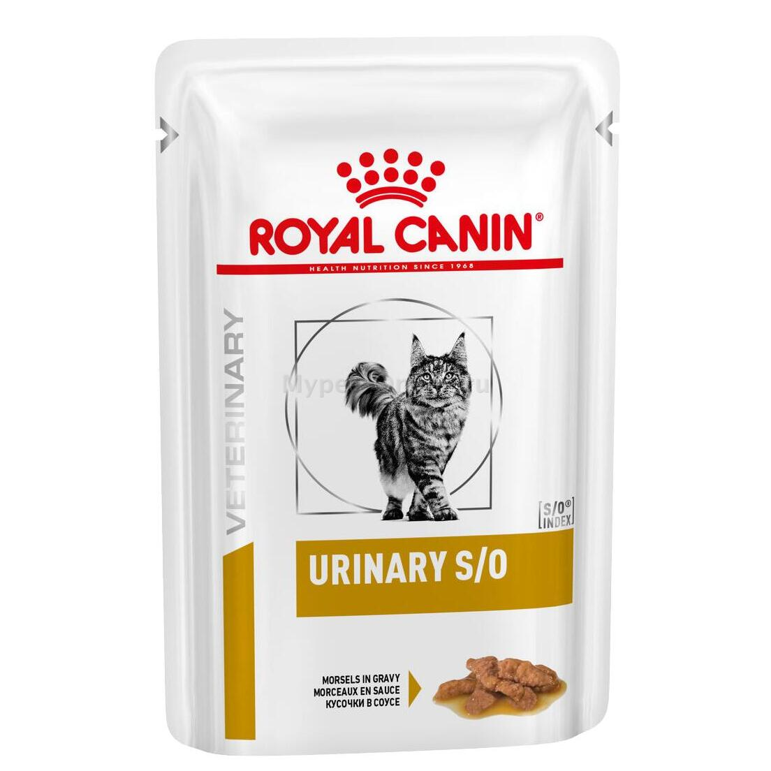 Корм для кошек Royal Canin Urinary S/O, 85 г - Интернет зоомагазин MyPet-Online.ru