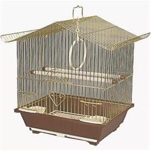 Клетка для птиц Triol 2101G, размер 30х23х39см.