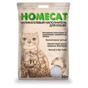 Наполнитель для кошачьего туалета Homecat Стандарт, 12.09 кг, 30 л