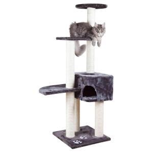 Домик-когтеточка для кошек Trixie Alicante, размер 45х45х142см., антрацит