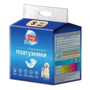 Подгузники для собак и кошек Cliny S
