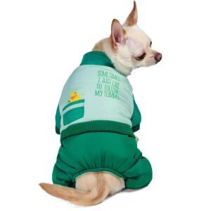 Комбинезон зимний для собак Triol Disney Winnie-the-Pooh Green L, размер 35см.