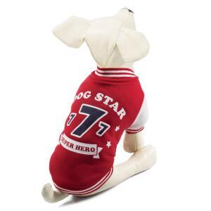 Куртка-бомбер для собак Triol Dog Star XL, размер 40см.