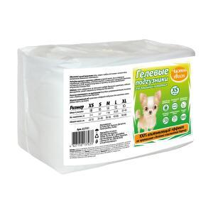 Подгузники для собак Чистый Хвост, размер  XS, 18 шт.