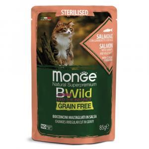 Корм для кошек Monge BWild, 85 г
