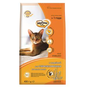Корм для кошек Мнямс Sterilized , 400 г