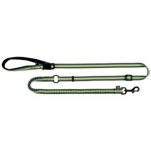 Поводок для пробежки Trixie Jogging Leash, серый/зеленый