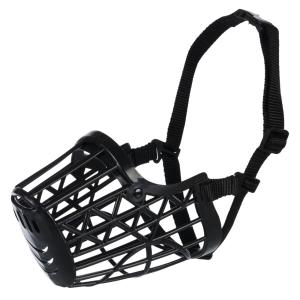 Намордник для собак Trixie Plastic S, черный