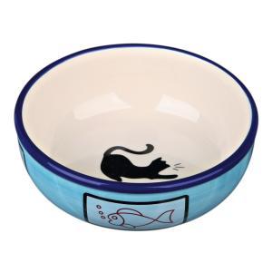Миска для кошек Trixie Ceramic Bowl, размер 12.5см., цвета в ассортименте