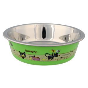 Миска для кошек Trixie Stainless Steel Bowl, размер 12см., цвета в ассортименте