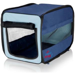 Сумка-переноска для собак и кошек Trixie Twister Mobile Kennel S, размер 31х33х50см., синий