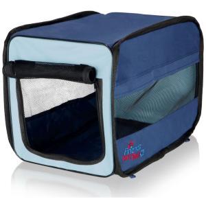 Сумка-переноска для собак и кошек Trixie Twister Mobile Kennel L, размер 50х52х76см., синий