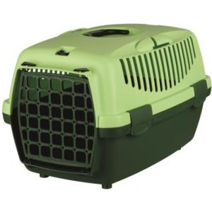 Бокс-переноска для собак и кошек Trixie Capri 1, размер 1, размер 32х31х48см., темно-зеленый / светло-зеленый