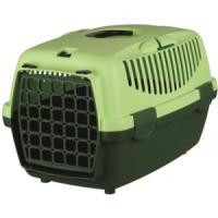 Фотография товара Бокс-переноска для собак и кошек Trixie Capri 1, размер 1, размер 32х31х48см., темно-зеленый / светло-зеленый