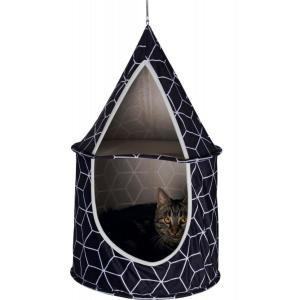 Домик для кошек Trixie Hanka, размер 35×60см., черный