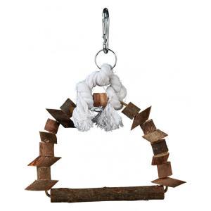 Качели для птиц Trixie Arch Swing S, размер 15х20см.