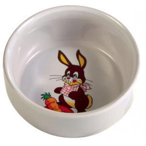Миска для грызунов Trixie Ceramic Bowl, 250 мл, размер 11см., 20, кремовый