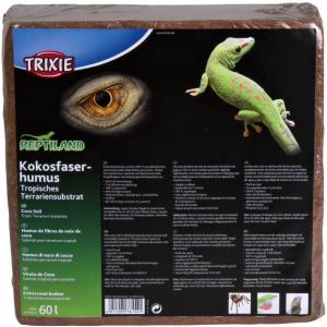 Кокосовый субстрат для террариумов Trixie Coco Soil, размер 60л, 60 л