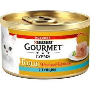 Корм для кошек Gourmet Melting Heart, 85 г, тунец