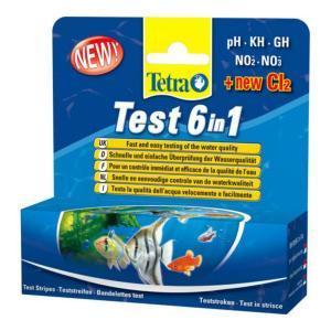 Тест для воды Tetra  6 in 1