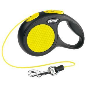 Поводок-рулетка для собак Flexi Neon Safety Plus XS