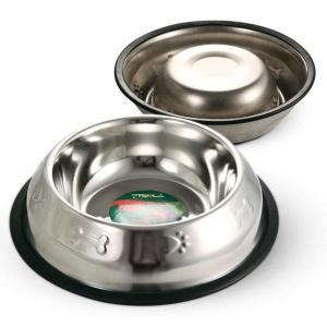 Миска для собак Triol 1557, 2.6 л, размер 32.5х32.5х8см.