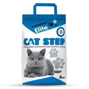 Наполнитель для кошачьих туалетов Cat Step Professional Elite, 5 кг
