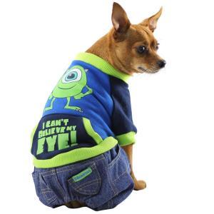 Толстовка с джинсами для собак Triol Monsters S, размер 23см.