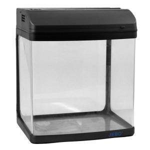 Аквариум для рыб Jebo 331R, 20 л, размер 32х24х37см., черный