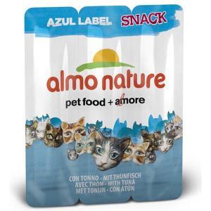 Колбаски для кошек Almo Nature Azul Label Snack, 15 г, тунец