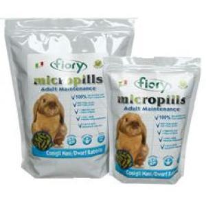 Корм для карликовых кроликов Fiory Micropills Dwarf Rabbits, 910 г, травы, размер 0.255x0.16x0.08см.