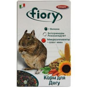 Корм для дегу Fiory Deggy, 925 г, травы, кора