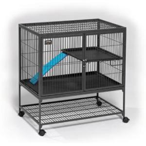 Клетка для хорьков Midwest Ferret Nation , размер 91.5х63.5х98см., черный