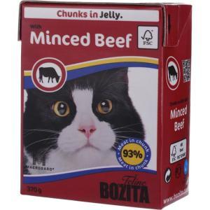 Корм для кошек Bozita Minced Beef, 370 г, рубленая говядина