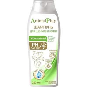 Шампунь для щенков и котят Animal Play Гипоаллергенный, 250 мл