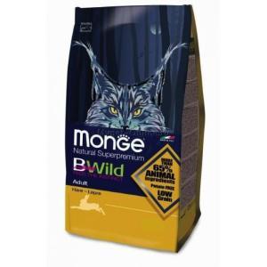 Корм для кошек Monge Bwild Cat Hare, 10 кг, кролик