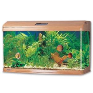 Аквариум для рыб Jebo 3126R, 289 л, размер 128.6х50х70.5см., светлое дерево