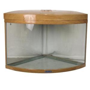 Аквариум для рыб Jebo 470R, 186 л, размер 65х65х70см., светлое дерево