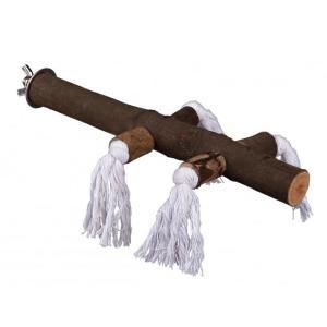 Жердочка для птиц Trixie Perch with Rope M, размер 25см.
