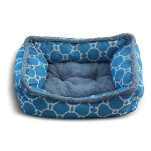 Лежанка для собак Triol Лазурный берег M, размер 61х48х18см., голубой