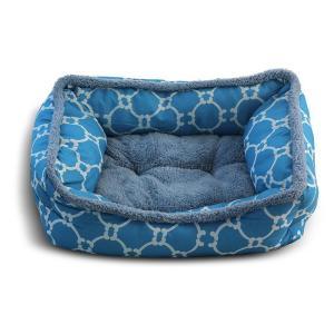 Лежанка для собак Triol Лазурный берег S, размер 47х37х17см., голубой