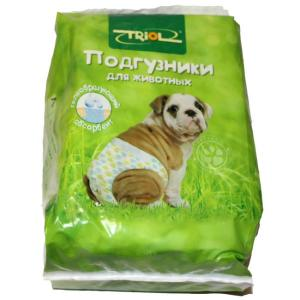 Подгузники для собак Triol DP19 XXL, 10 шт.