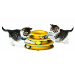 Игрушка для кошек Petstages Tower of Tracks, размер 25х25х20см.