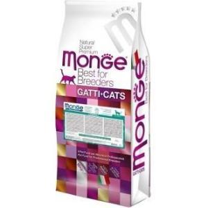 Корм для кошек Monge Cat Hairball, 10 кг, курица