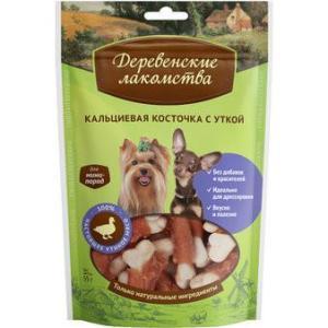 Лакомство для собак Деревенские лакомства, 55 г, утка