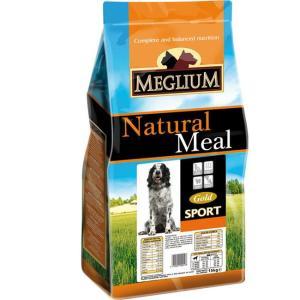 Корм для собак MEGLIUM Dog Sport Gold, 15 кг, говядина с курицей