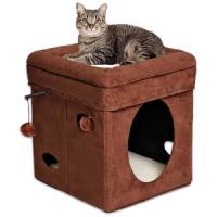 Фотография товара Домик для кошки Midwest Currious Cat Cube, размер 38х38х42см.