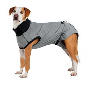 Попона для собак Trixie Protective Body XXL, размер 55см., серый