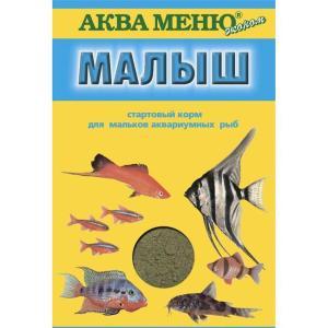Корм для рыб Аква Меню Малыш, 15 г