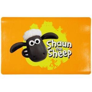 Коврик под миску Trixie Shaun the sheep, размер 44х28см., оранжевый